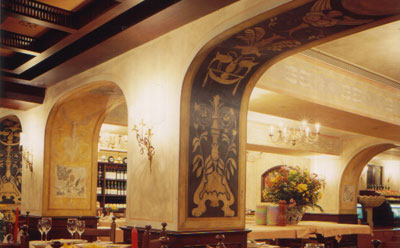 The Royal Garden Hotel : Sabatini restaurant